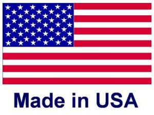 Our peephole covers are proudly made in the USA